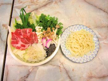 ヘルシーポーク味噌鍋
