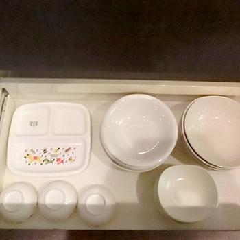 12名様用コテージ食器類
